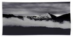 Mountain Contrast Beach Towel