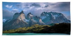 Beach Towel featuring the photograph Mountain Dream by Andrew Matwijec