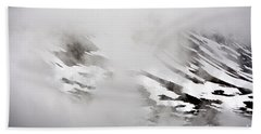 Mountain Fog - Alaska Beach Towel