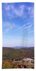 Mountain Foliage Beach Towel