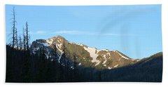 Mountain In Rocky Mountian Np Co Beach Sheet