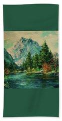 Mountain Lake Beach Sheet