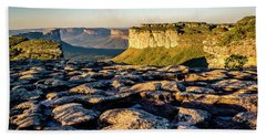 Beach Towel featuring the photograph Mountain Landscape by Lana Enderle