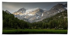 Beach Towel featuring the photograph Mountain Light  by Duncan Selby