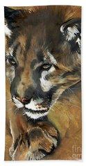 Mountain Lion - Guardian Of The North Beach Sheet