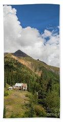 Mountain Mining Home Beach Towel
