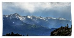 Mountain Moodiness Beach Towel