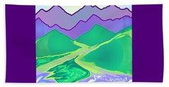 Mountain Murmurs Beach Sheet