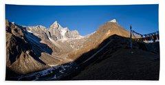 Mountain Peak, Kumuche Himal Beach Towel