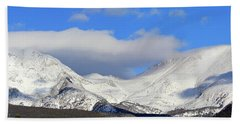 Mountain Peaks - Panorama Beach Towel