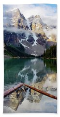 Mountain Reflections Beach Towel