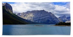Upper Kananaskis Lake Beach Sheet by Heather Vopni
