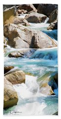 Mountain Spring Water Beach Towel
