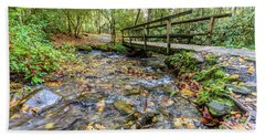 Mountain Stream #2 Beach Towel