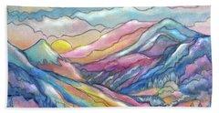 Mountain Stream Beach Sheet