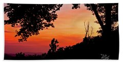 Beach Towel featuring the photograph Mountain Sunrise by Meta Gatschenberger