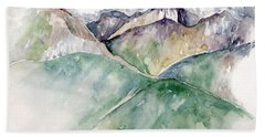 Mountain View Colorado Beach Towel