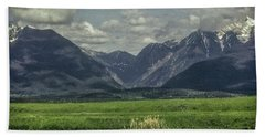 Mountain View Montana.... Beach Towel