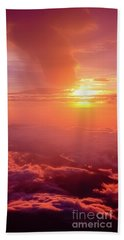 Beach Towel featuring the photograph Mountain View by Tatsuya Atarashi