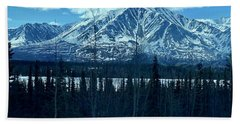 Mountain View Beach Towel