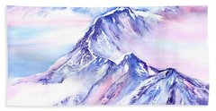 Mountains - Above The Clouds No. 1 Beach Towel