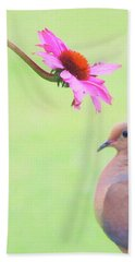 Beach Towel featuring the photograph Mourning Dove by Sue Collura