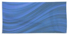Movement In Waves Beach Towel