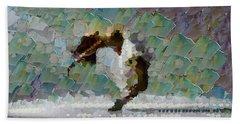 Movement Theory - Ballerina Beach Sheet by Sir Josef - Social Critic -  Maha Art