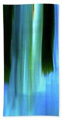 Moving Trees 37-05 Portrait Format Beach Towel