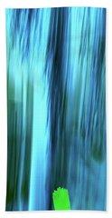 Moving Trees 37-15portrait Format Beach Towel