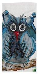 Mr. Blue Owl Beach Sheet