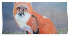 Mr. Fox Beach Towel