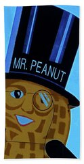 Mr Peanut 2 Beach Towel