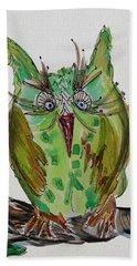 Mr.lime Owl Beach Towel