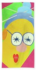 Mrs. Strangefellow Beach Towel