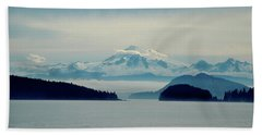 Mt. Baker Washington Beach Towel