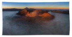 Mt Bromo Sunrise Beach Towel