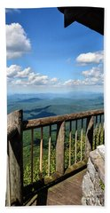 Mt. Cammerer Beach Towel by Debbie Green