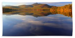 Mt. Chocorua In Blue Beach Towel