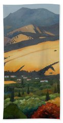 Mt. Diablo Above Beach Towel