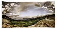 Beach Towel featuring the photograph Mt. Evans Alpine Vista #2 by Chris Bordeleau