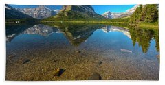 Mt. Grinnell Beach Towel