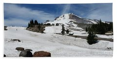 Mt. Hood In June Beach Towel