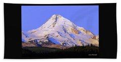 Mt. Hood, Oregon Beach Sheet