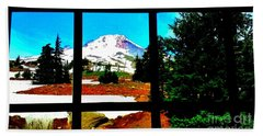 Mt. Hood View Beach Towel
