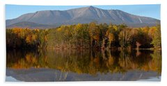 Mt Katahdin Baxter State Park Fall 1 Beach Sheet