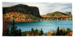 Mt. Kineo, Rockwood, Maine Beach Towel