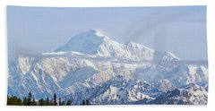 Denali Cloud Line Beach Towel by Allan Levin