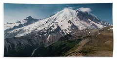 Mt. Rainier Panoramic Beach Towel