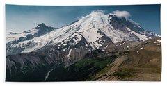 Mt. Rainier Panoramic Beach Towel